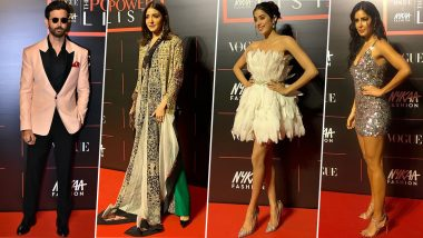 Vogue The Power List 2019: Hrithik Roshan, Janhvi Kapoor and Katrina Kaif Rule the Red Carpet and How! (View Pics)